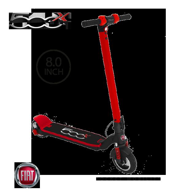 E-Scooter FIAT 500 de 8″